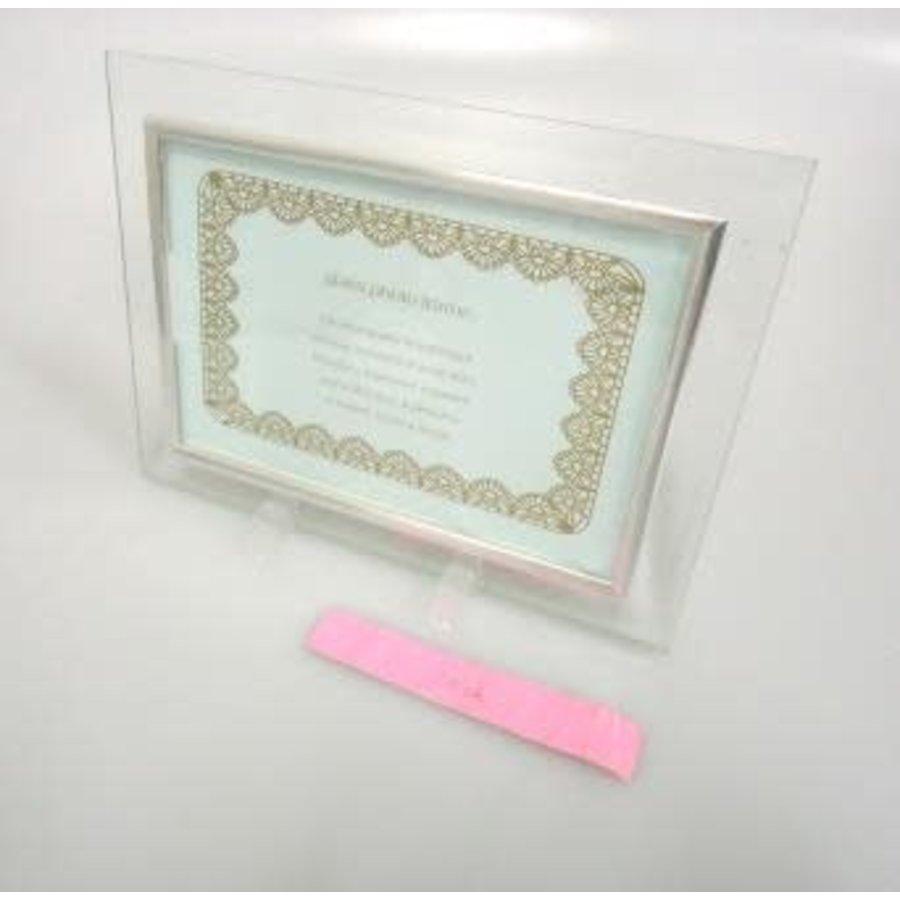 Glass photo frame postcard size : PB-1