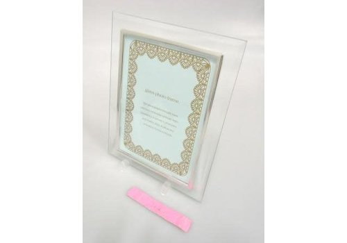 Glass photo frame LL size