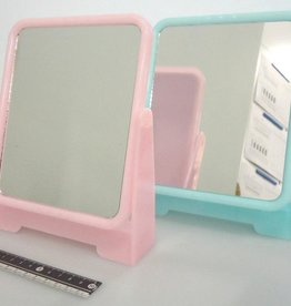 Pika Pika Japan Square stand mirror color : PB
