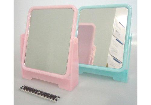Square stand mirror color : PB