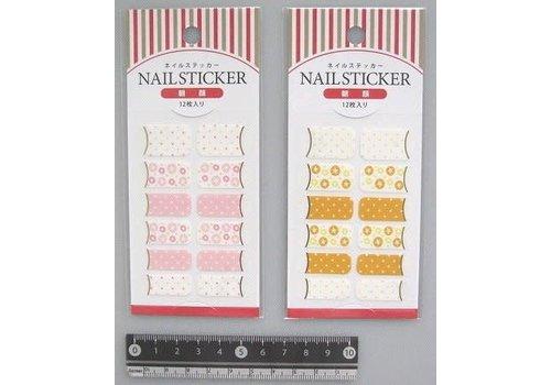 Nail sticker, sugar lace