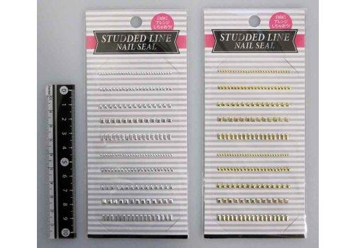 Studs rhine nail sticker : PB