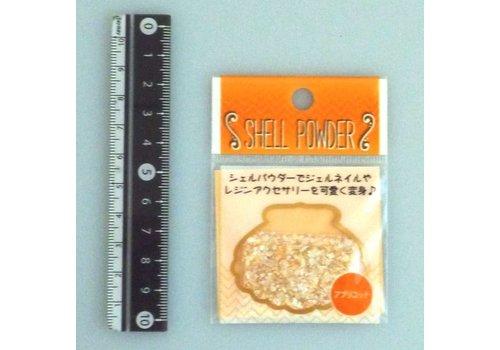 Shell powder apricot color : PB