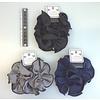 Pika Pika Japan Black line scrunchie : PB