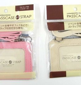 Pika Pika Japan Pass case with strap color : PB