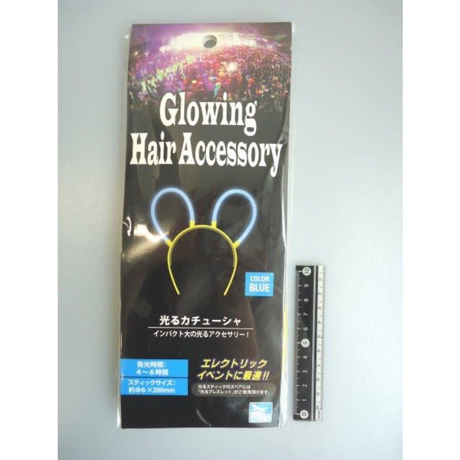 Glowing hair band blue : PB-1