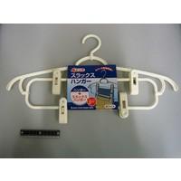 4 pinch slacks hanger WH : PB