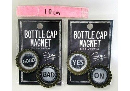 Vintage crown magnet sign : PB