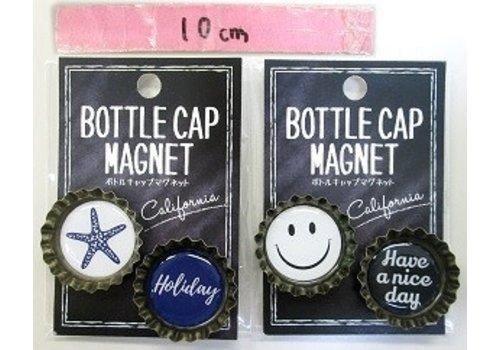 Vintage-style crown magnet