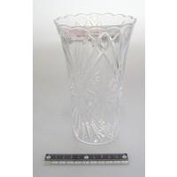 Plastic clear vase 170mm : PB