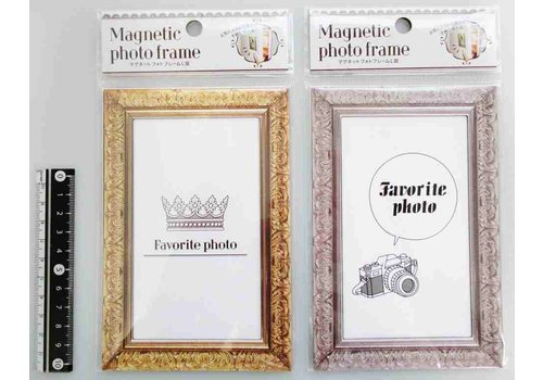 Magnetic photo frame L size