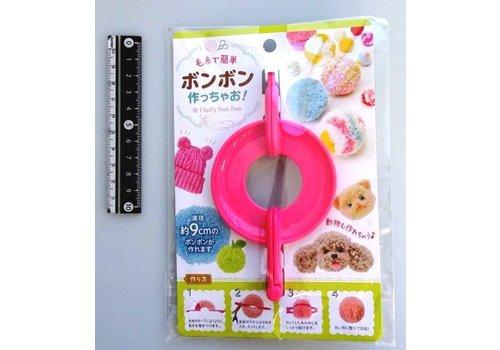 Yarn pom-poms maker, 9cm