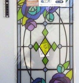 Pika Pika Japan Stained-glass like sheet rose : PB