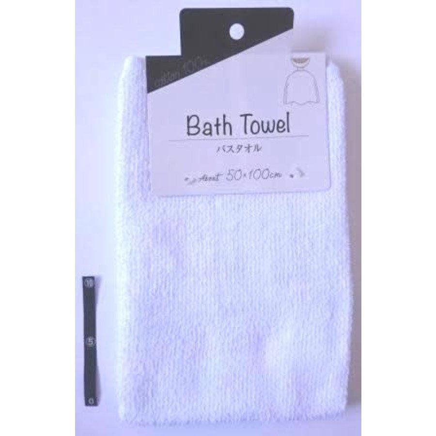 ?Bath towel WH with header : PB-1