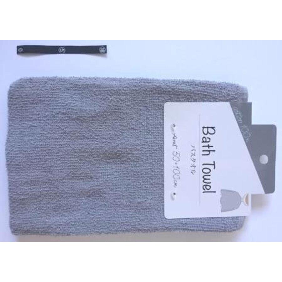 Bath towel GY with header : PB-1