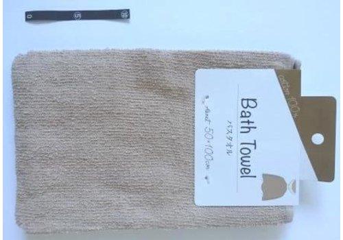Bath towel BR with header : PB