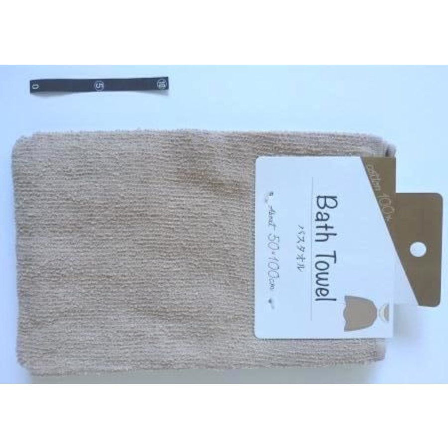 Bath towel BR with header : PB-1