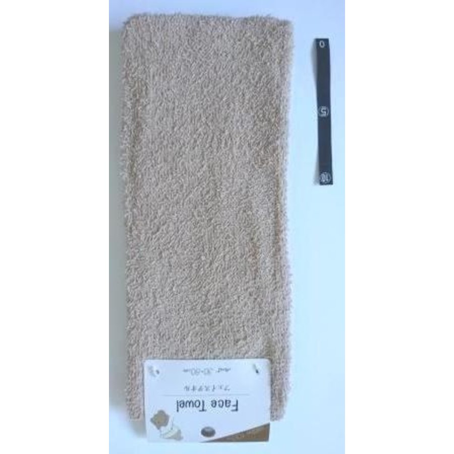 Face towel BR with header : PB-1