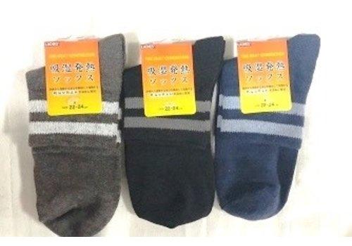 Ladies heat absorbing socks