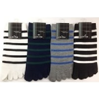 Men's 5 fingers toe sneaker socks