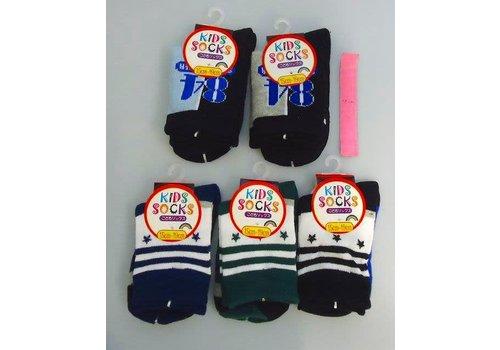 Socks for kids, blueish, star