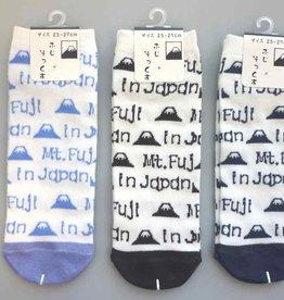 Pika Pika Japan Men's Mt Fuji socks