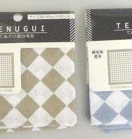 Pika Pika Japan Tenugui handkerchief diamond pattern