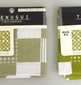 Pika Pika Japan Tenugui handkerchief Japanese traditional pattern