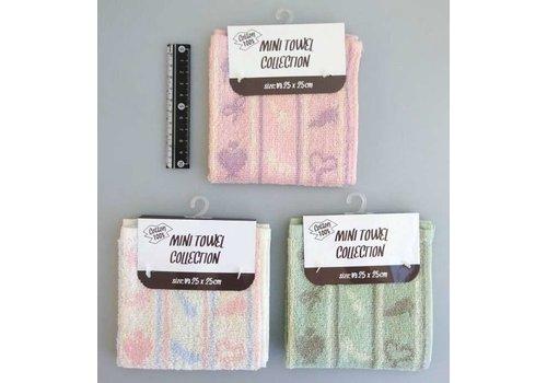 Mini towel cosmetics pattern