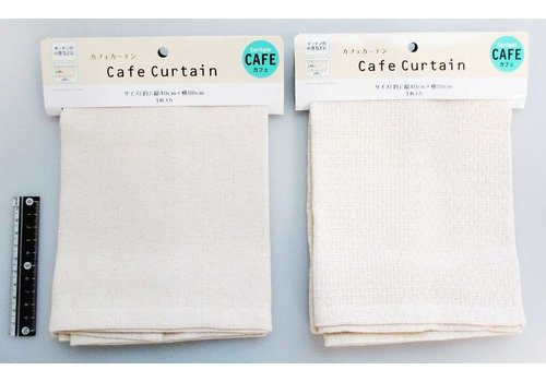 Cafe curtain natural