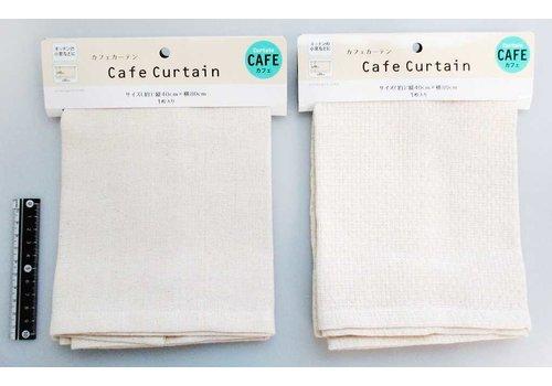 Cafe curtain natural