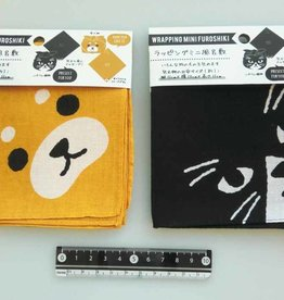 Pika Pika Japan Wrapping mini cloth dog,cat patterns