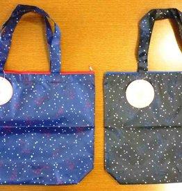 Pika Pika Japan Tote bag with fastener stars pattern