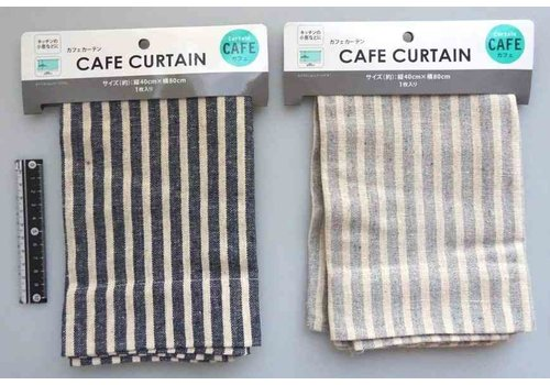 Cafe curtain stripe