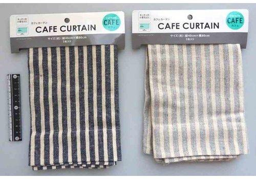 Home decoration -orbi cafe curtain stripe