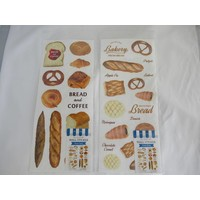 Bread decoration wall sticker