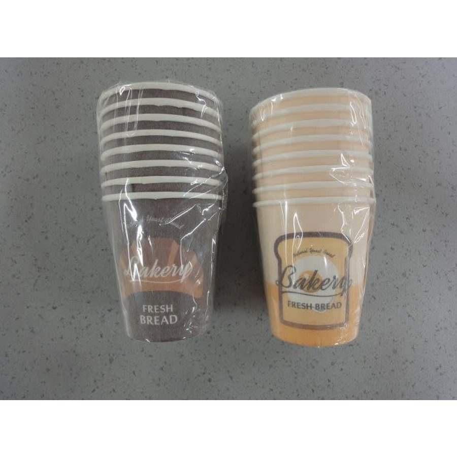Bread thermal insulation cup 8p-1