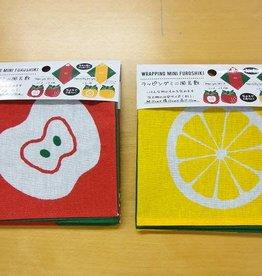 Pika Pika Japan Wrapping mini furoshiki fruits pattern