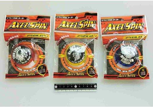 Technical yoyo axel spin