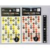 Pika Pika Japan Marking sticker, monochrome