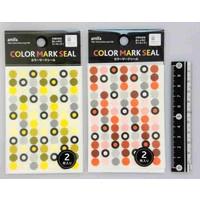 Marking sticker, monochrome