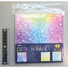 Pika Pika Japan Design papier met sterren, 48 vellen