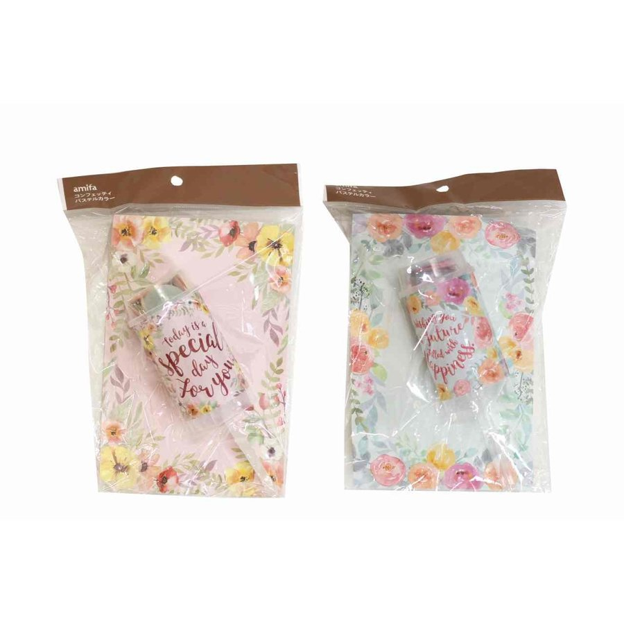 Confetti in pastelkleuren-1