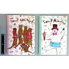 A5 size notebook sweets shop 64s