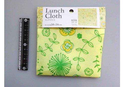 Lunch cloth flower pattern