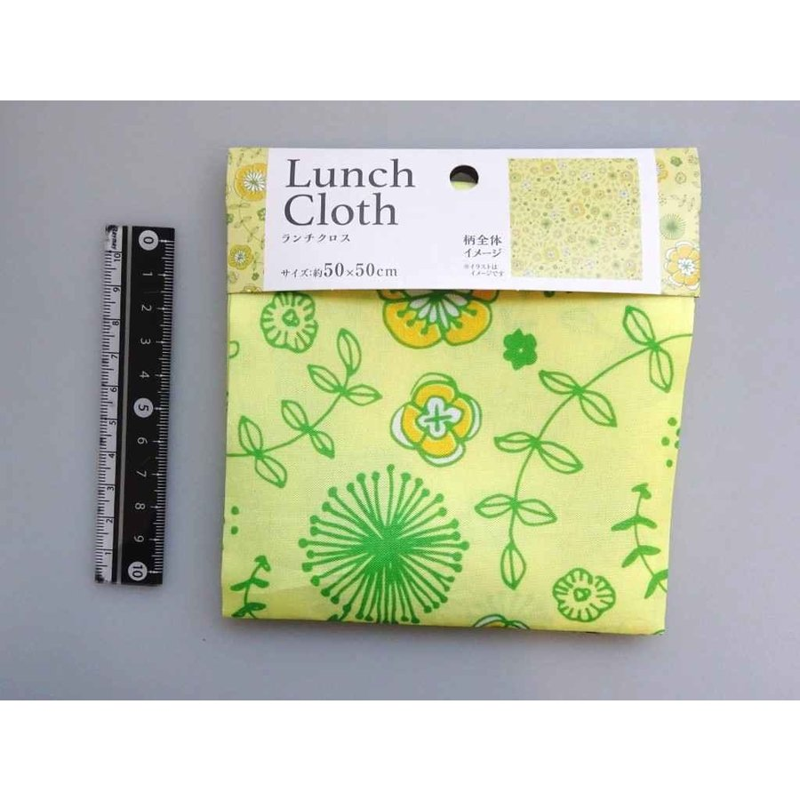 Lunch cloth flower pattern-1