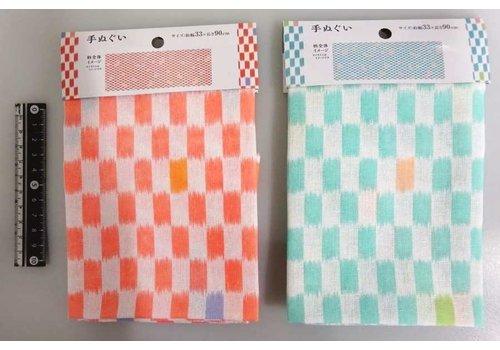 Japanese towel checkered