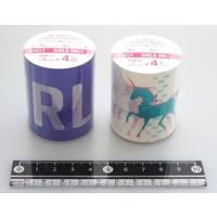 Décor masking tape 5cm pink