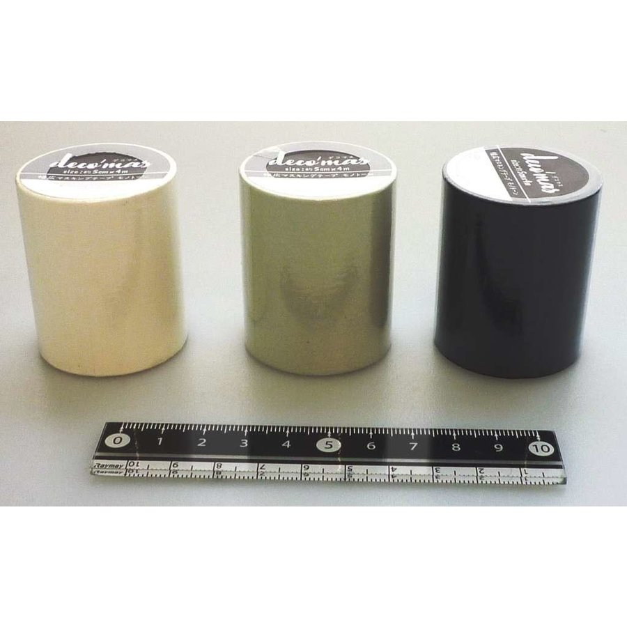 Decoration masking tape 5cm monotone-1
