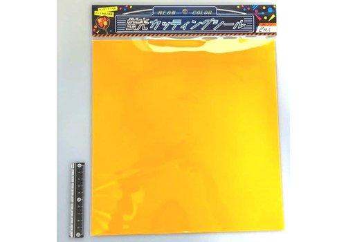 Cutting sticker orange 2p